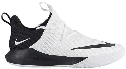69b00675926d Nike Men s Zoom Shift 2 TB White Black-White Basketball Shoes