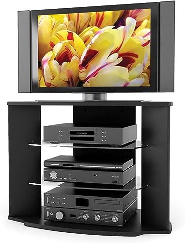 Sonax Rio 35-Inch Midnight Black TV Stand