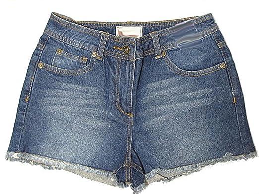 e03983bb52 Love Lola Womens Denim Shorts Ladies High Waisted Jeans Shorts Quality Hot  Pants Dark Blue 8-16: Amazon.co.uk: Clothing