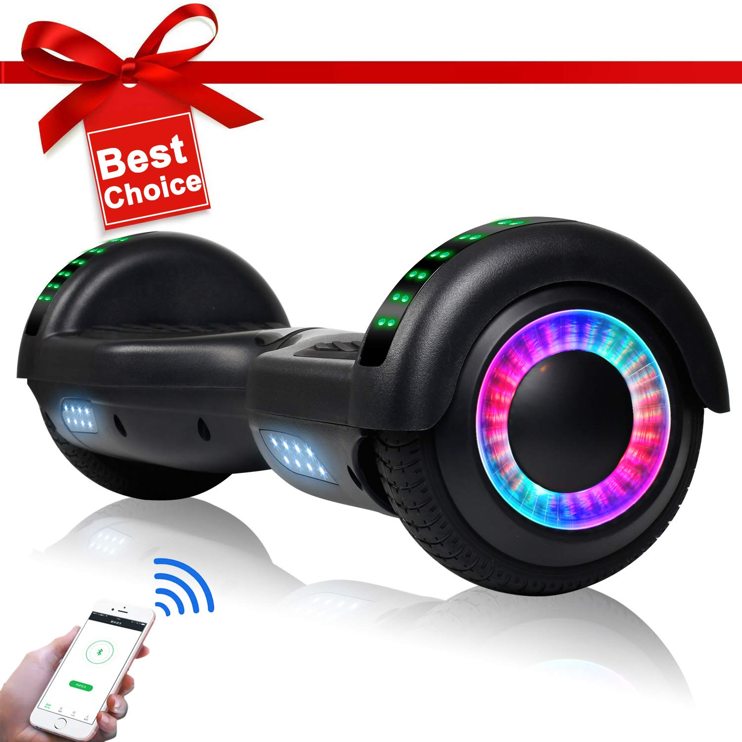 jolege 6.5'' Hoverboard for Kids Two-Wheel Self Balancing Electric Scooter Hover Board - UL2272 Certified