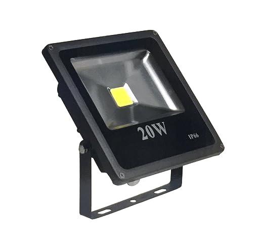 MiEco® 10 W – 20 W 30 W High Power LED Foco Luz, Gris