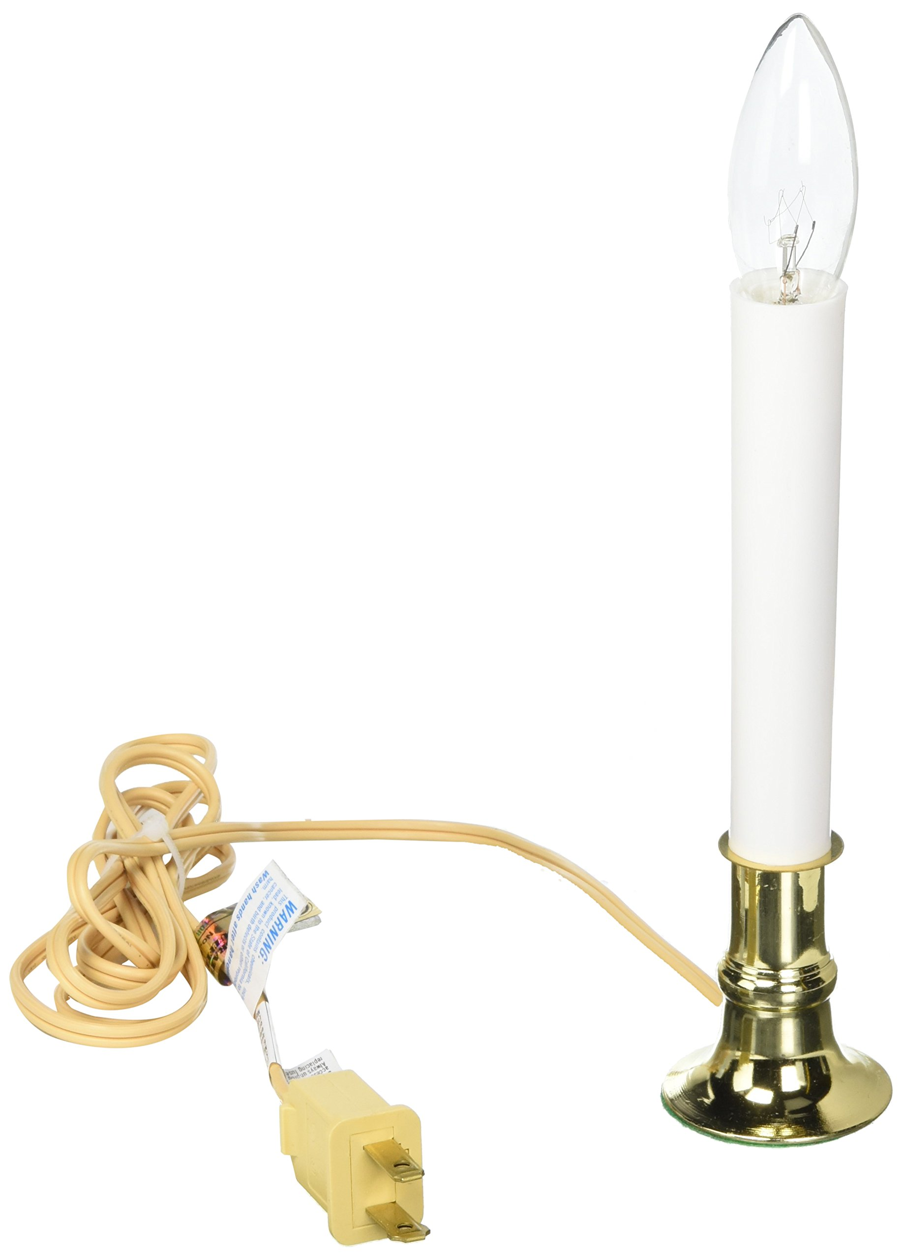 Electric Welcome Candle Lamp With Sensor Boxed-Quantity of 4, 7 Inches Tall