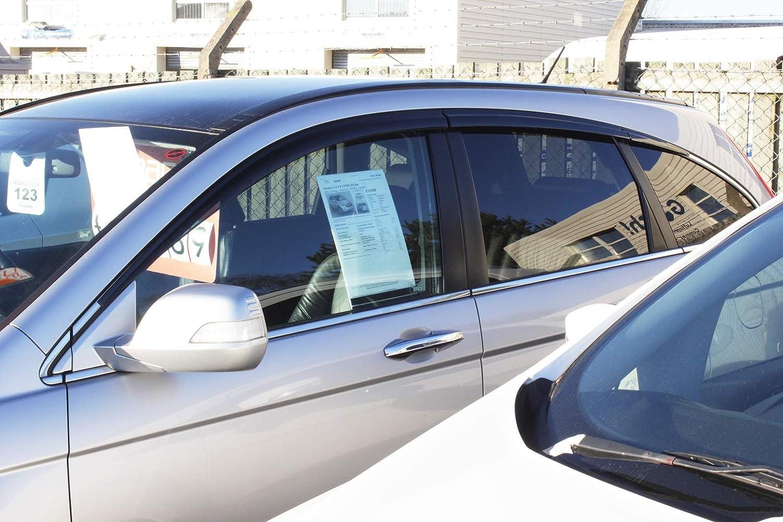6 pieces Autoclover Wind Deflectors Set for Honda CRV 2007-2012