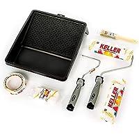 KELLER Kit Rodillos De Pintura Antigoteo Calidad Profesional
