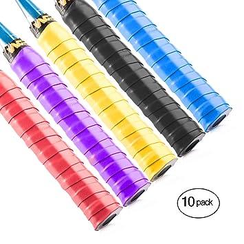 Windwalker M1 10pics de Sobregrip cinta de agarre antideslizante absorbente para raquetas de tenis badminton pesca padel volante bate de beisol ...