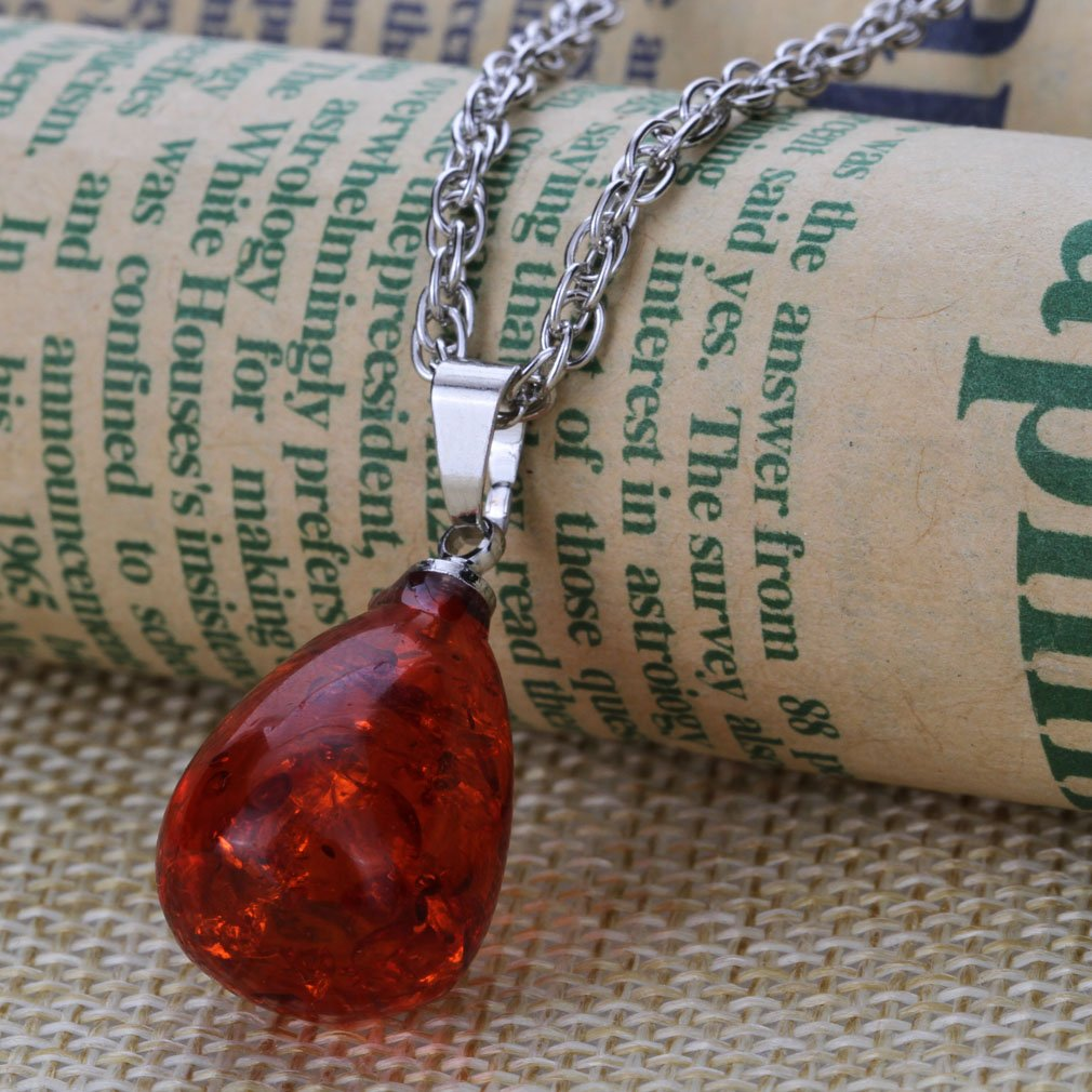 Yazilind Femmes Classics Teardrop Pierre Collier Boucle doreille Plaqu/é Argent Romantique Bijoux en Cristal Mignon Cadeaux