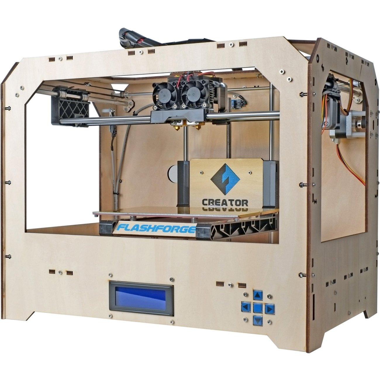 FlashForge 3d-ffg-crewo Creador Funda de madera 3d impresora ...