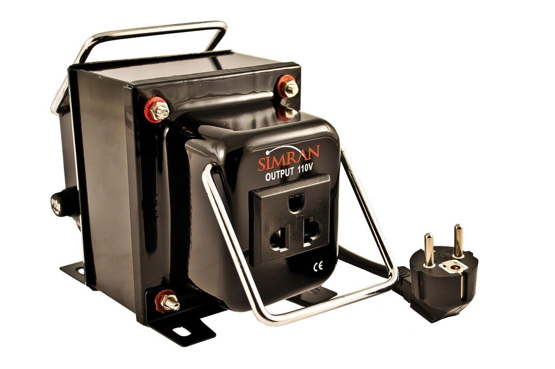 Simran 300 Watt Step Down Power Converter 220 Volt to 110 Volt Voltage Transformer CE Certified, THG-300
