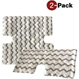 2-Pack Replacement Microfiber Cleaning Pads for Shark Lift-Away Pro Steam Pocket Mop S6001W S6001WM S6002 S6003W S5003A S5003D S3973 S3973D S3973WM