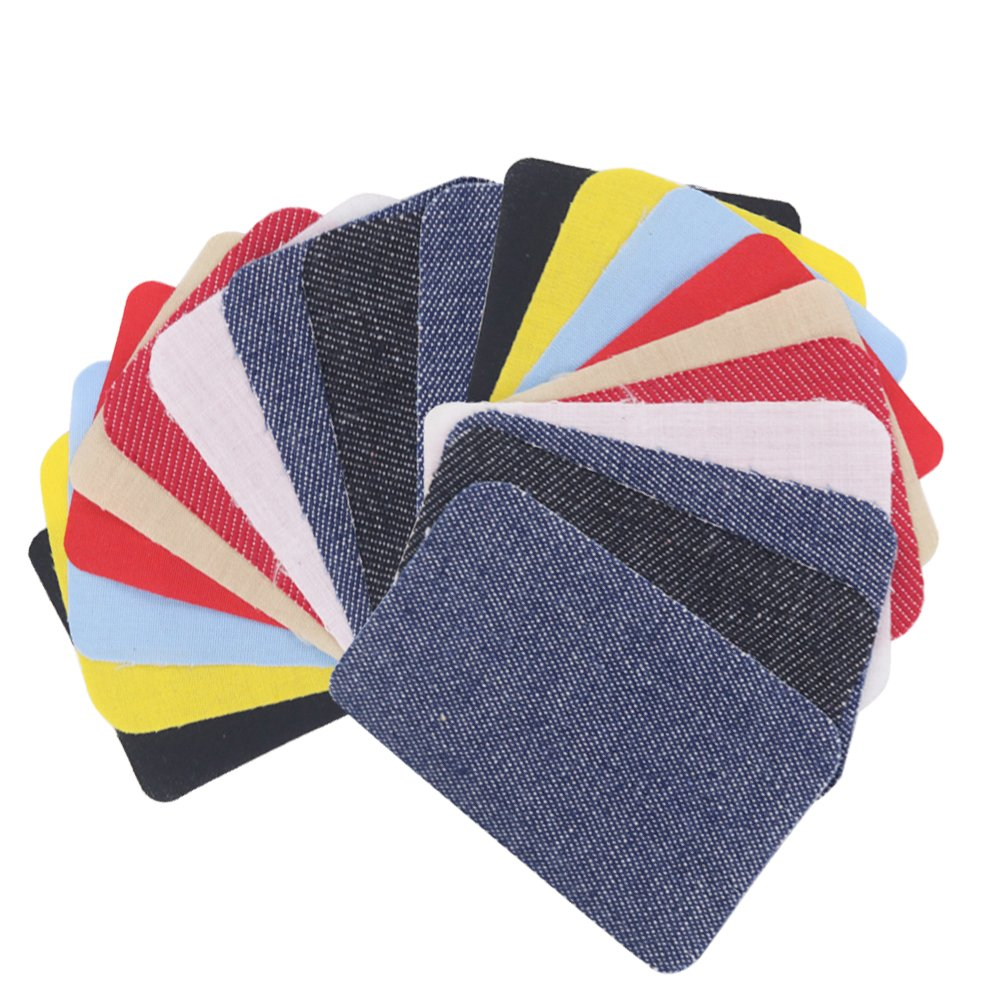 Open Buy - Lot de 20coudières/genouillères sous forme de patchs thermocollants, pour donner un nouveau look ou réparer vos vêtements en 10secondes