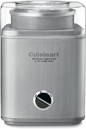Cuisinart ICE-30BCP1 Ice Cream Maker, 2-Qt, Silver