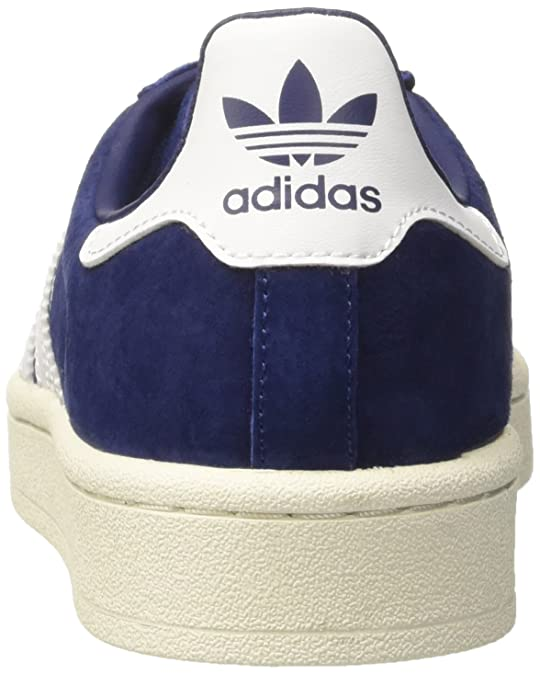 5ee20e7b0cb2 adidas Mens Campus Nubuck Synthetic Dark Blue White Trainers 10 US