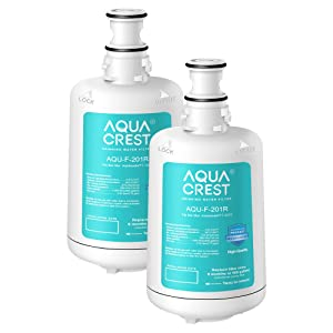 AQUACREST F-201R Filter Cartridge, Compatible with Insinkerator F-201R Filter Cartridge (Pack of 2)