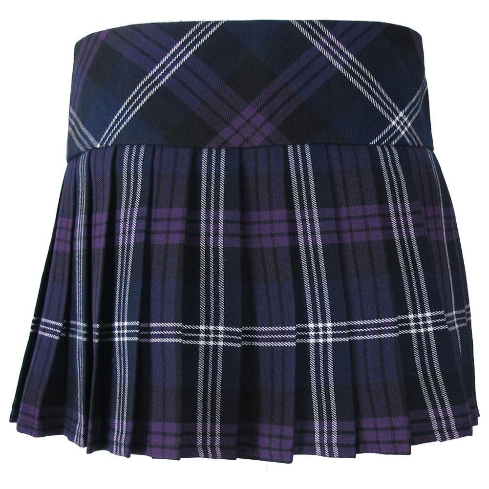da Ragazza Tartanista Gonna Kilt Honour of Scotland Viola in Tartan