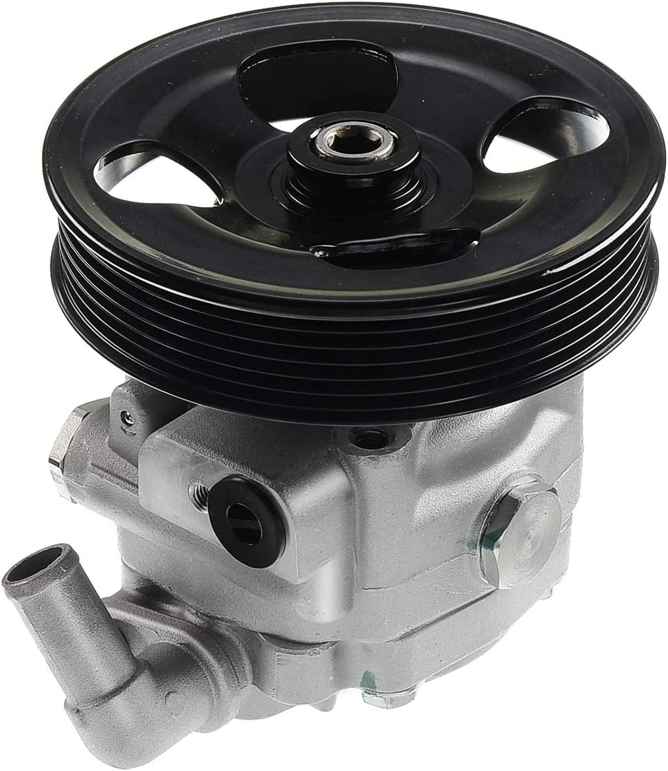2005-2011 V8 4.4L Only A-Premium Power Steering Pump with Pulley Replacement for Volvo XC90