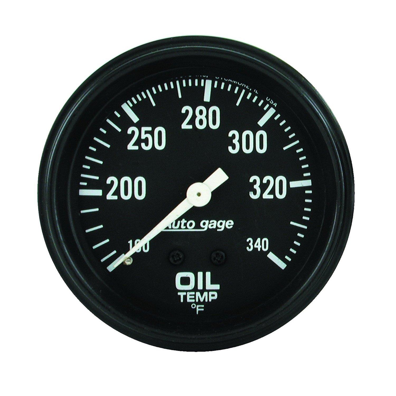 Auto Meter 2314 Auto Gage 2-5/8' Mechanical Oil Temperature Gauge