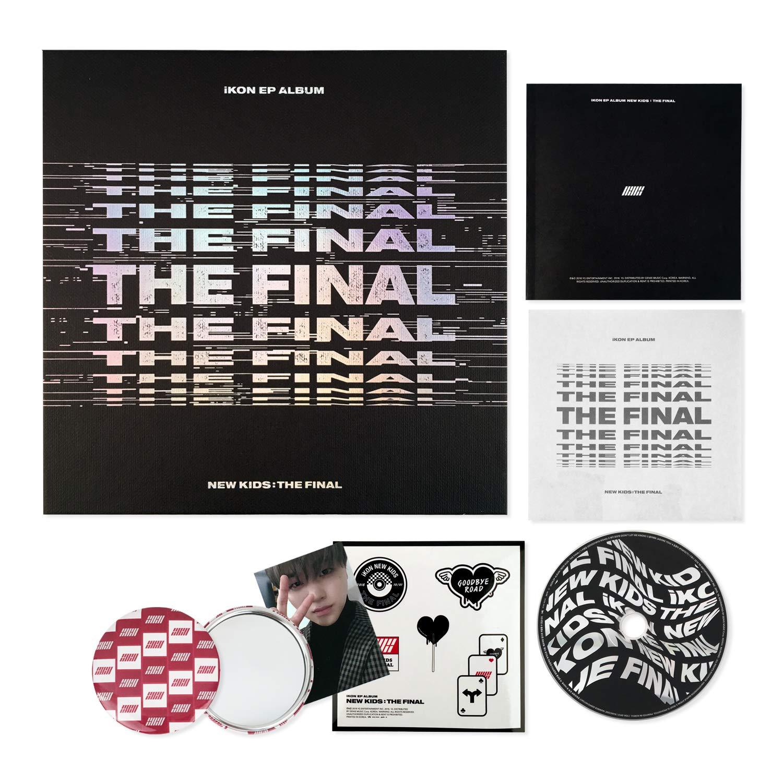 IKON EP Album - New Kids : The Final [ BLACKOUT ver  ] CD +