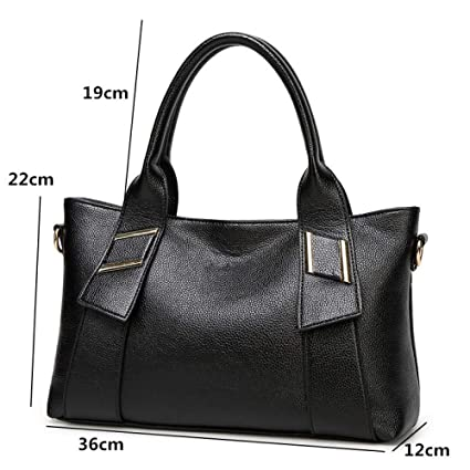c2f521be44d2 Amazon.com: GMYANDJB Women Fashion Leather Bags Luxury Designer ...