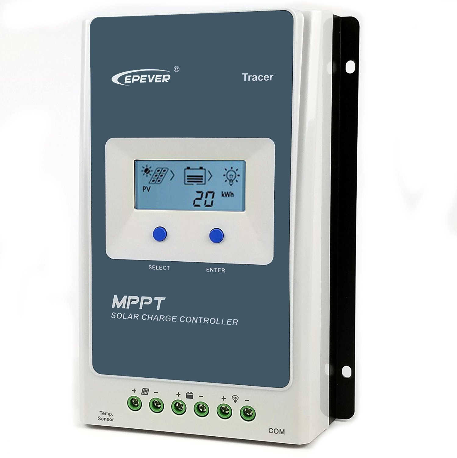 Epever Mppt Charge Controller 10a Solar Panel Arduino Pwm Circuit 4 100v Pv Input Negative Grounded Regulator 12v 24v Auto With Lcd