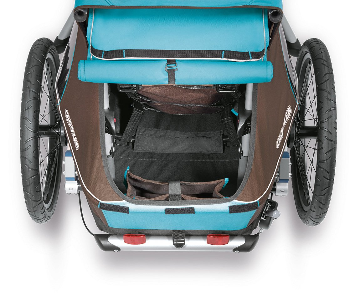 Croozer Kid Plus for 1 - 3 in 1 Single Child Trailer Sky Blue / Brown by Croozer (Image #6)