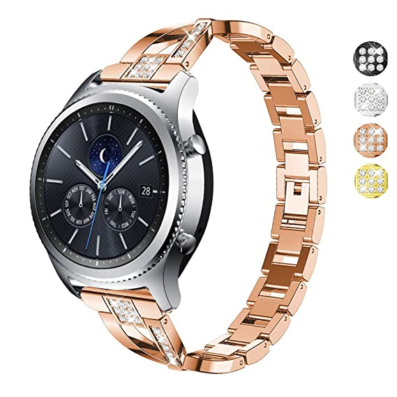 Amazon.com: DELELE for Samsung Gear S3 Frontier/Classic Band ...