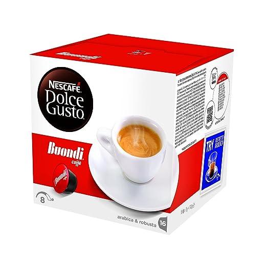 230 opinioni per NESCAFÉ DOLCE GUSTO ESPRESSO BUONDI Caffè espresso 3 confezioni da 16 capsule