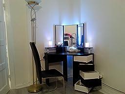 schminktisch coif mit spiegel k che haushalt. Black Bedroom Furniture Sets. Home Design Ideas