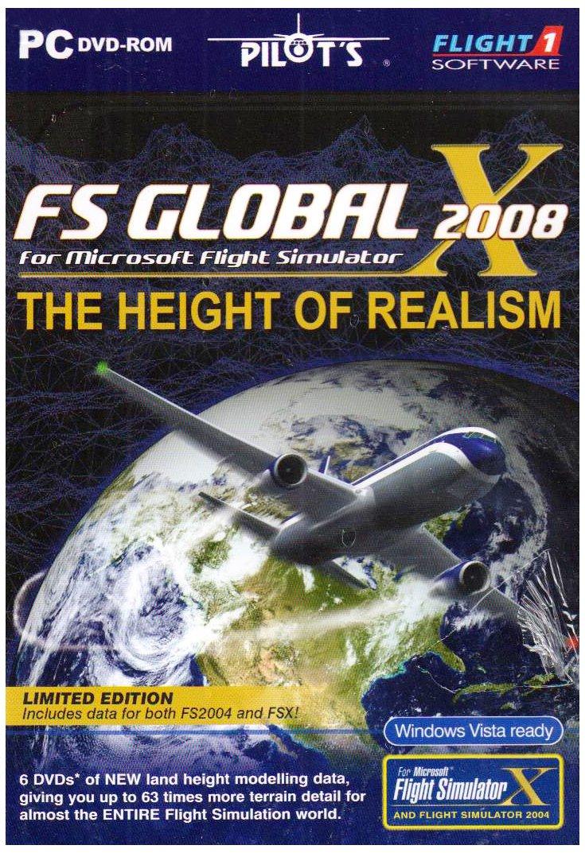 FS Global 2008 Add-On for FS 2004/FSX (PC CD): Amazon co uk: PC
