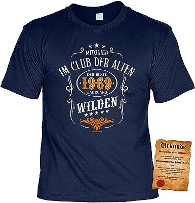 T Shirt 50 Geburtstag Geburtstagsshirt Spruche Jahrgang 1969
