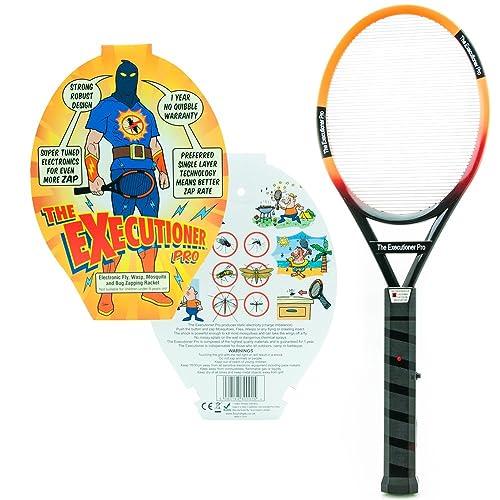 Sourcing4u EX-PRO The Executioner TM PRO - Raqueta caza mosquitos