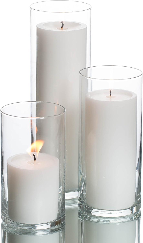 Smart-Planet Juego de 17 velas de t/é ecol/ógicas de vainilla recarga de velas 5 en funda de pl/ástico 17 hojas de cera aroma