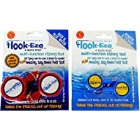 Hook-Eze 2 x Twin Packs 1 x New Larger Model Reef & Blue Water + 1 x Original River & Coast Safe Fishing Hook Cover…