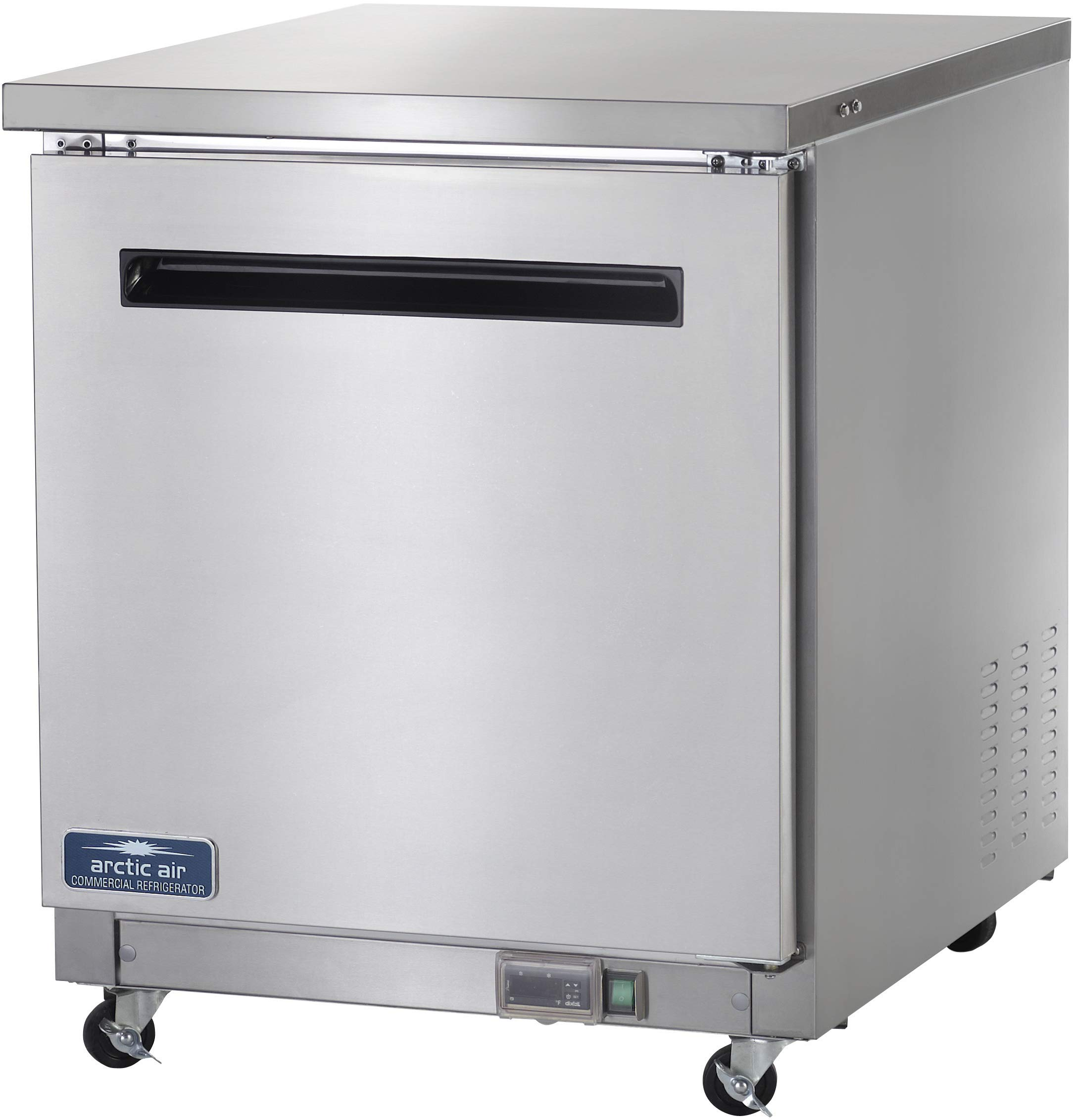 Arctic Air AUC27R 27'' Undercounter Refrigerator - 6.5 cu. ft, Stainless Steel by Arctic Air