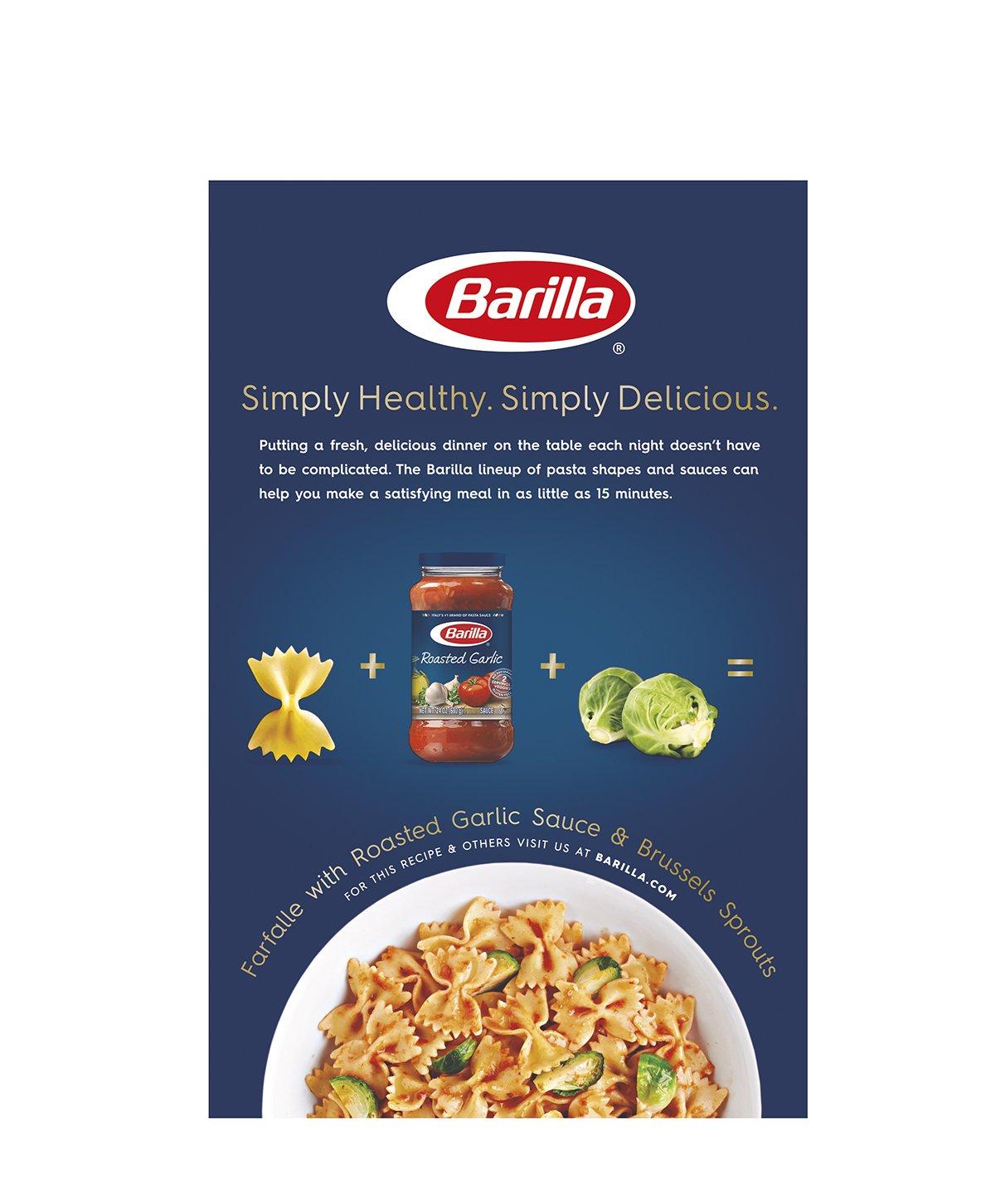 Amazon Barilla Pasta Farfalle 16 Ounce Grocery & Gourmet Food