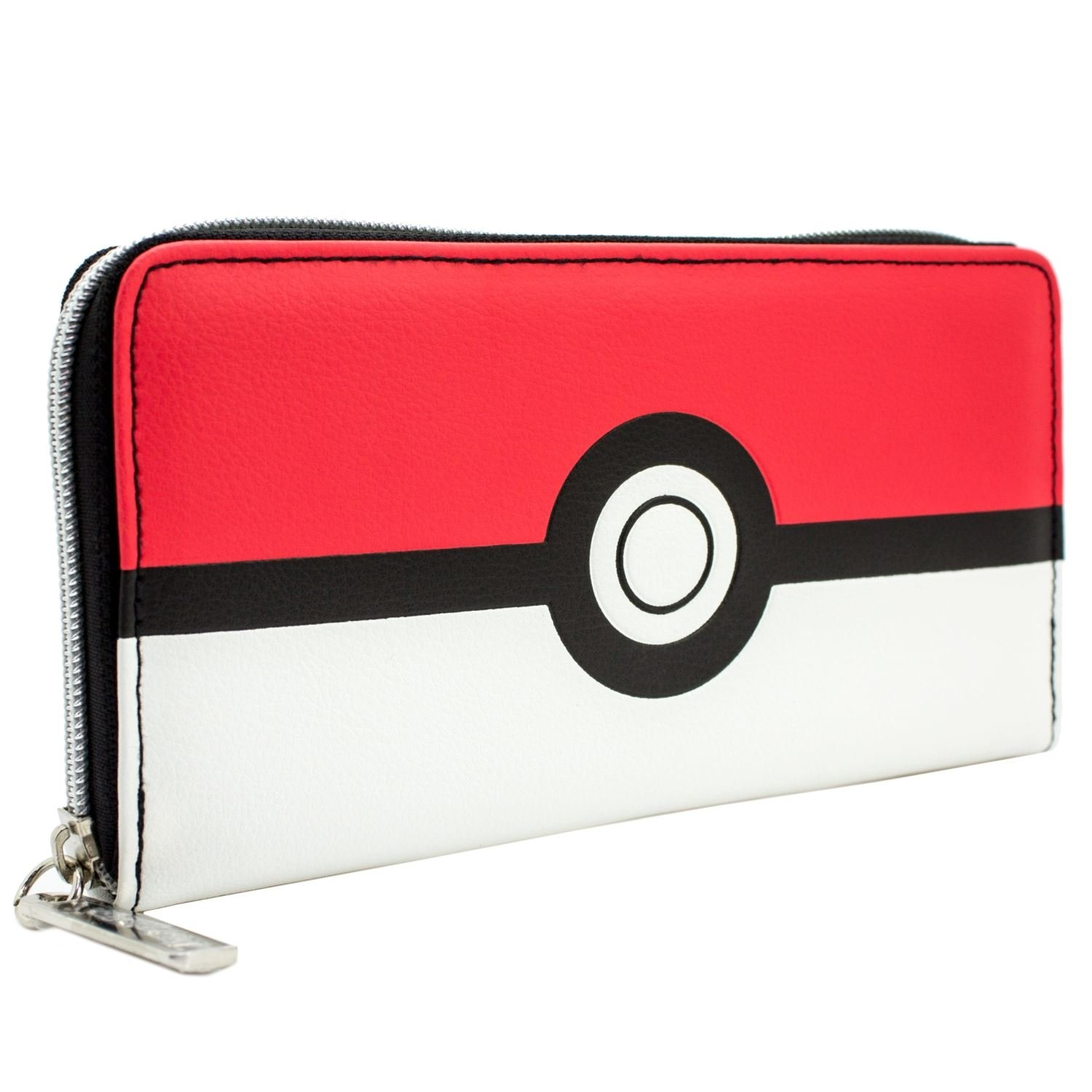 Cartera de Pokemon Diseño rojo y blanco de Pokeball Rojo: Amazon.es: Equipaje