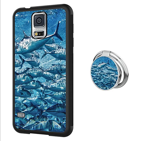 amazon com tuna samsung galaxy s5 case with ring holder custom