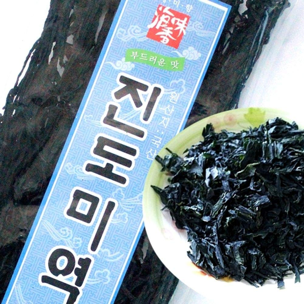 Korean Soft Seaweed from Jindo 80g x 2 packs