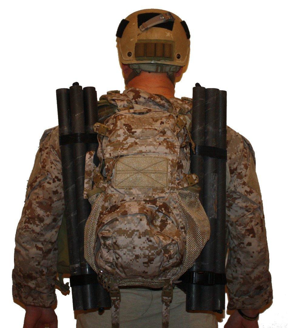 極極Combatカーボン( 2 & 4ストラップ   B075K744GK