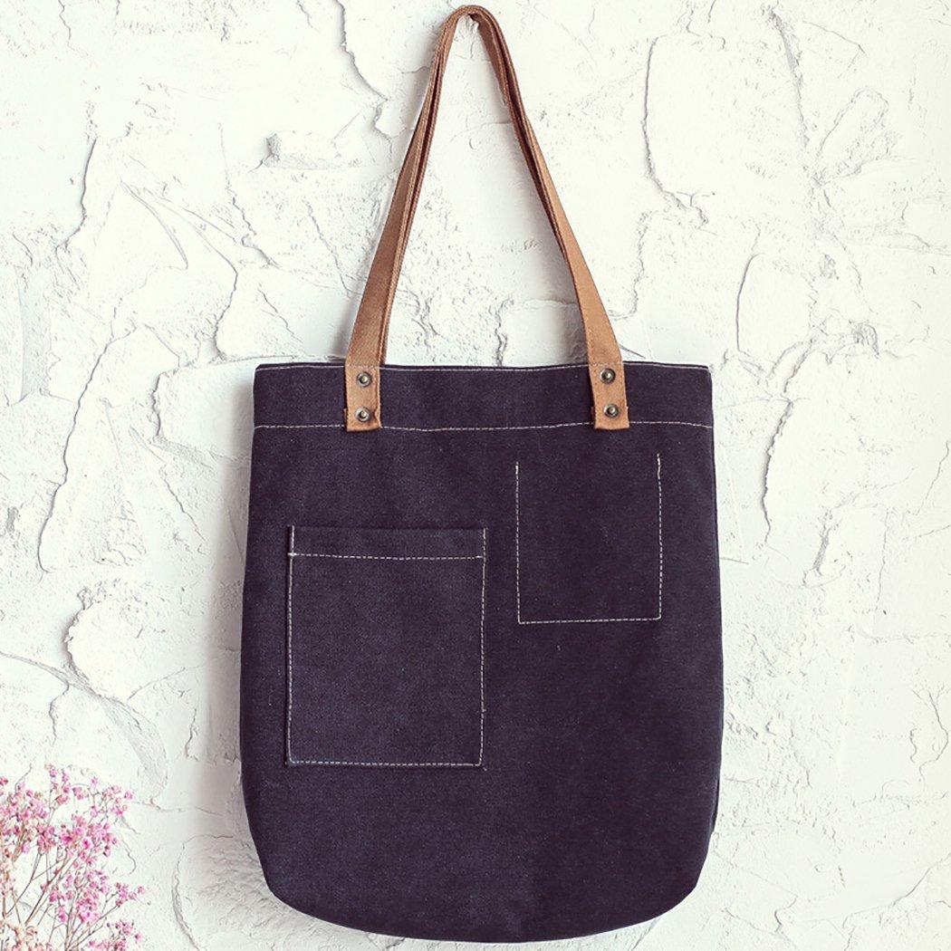 Bageek Canvas Tote Bag Handbags for Womens Bag Canvas Purses and Handbags by Bageek (Image #9)