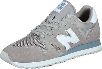 Amazon.com   New Balance U520 FTWR Grey   Fashion Sneakers