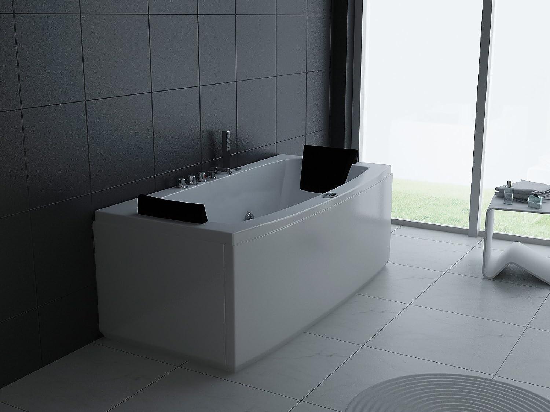 ECO-DE–Vasca idromassaggio Eco-DE ® MALAGA 170x 80x 68cm, Mantenitore di calore)