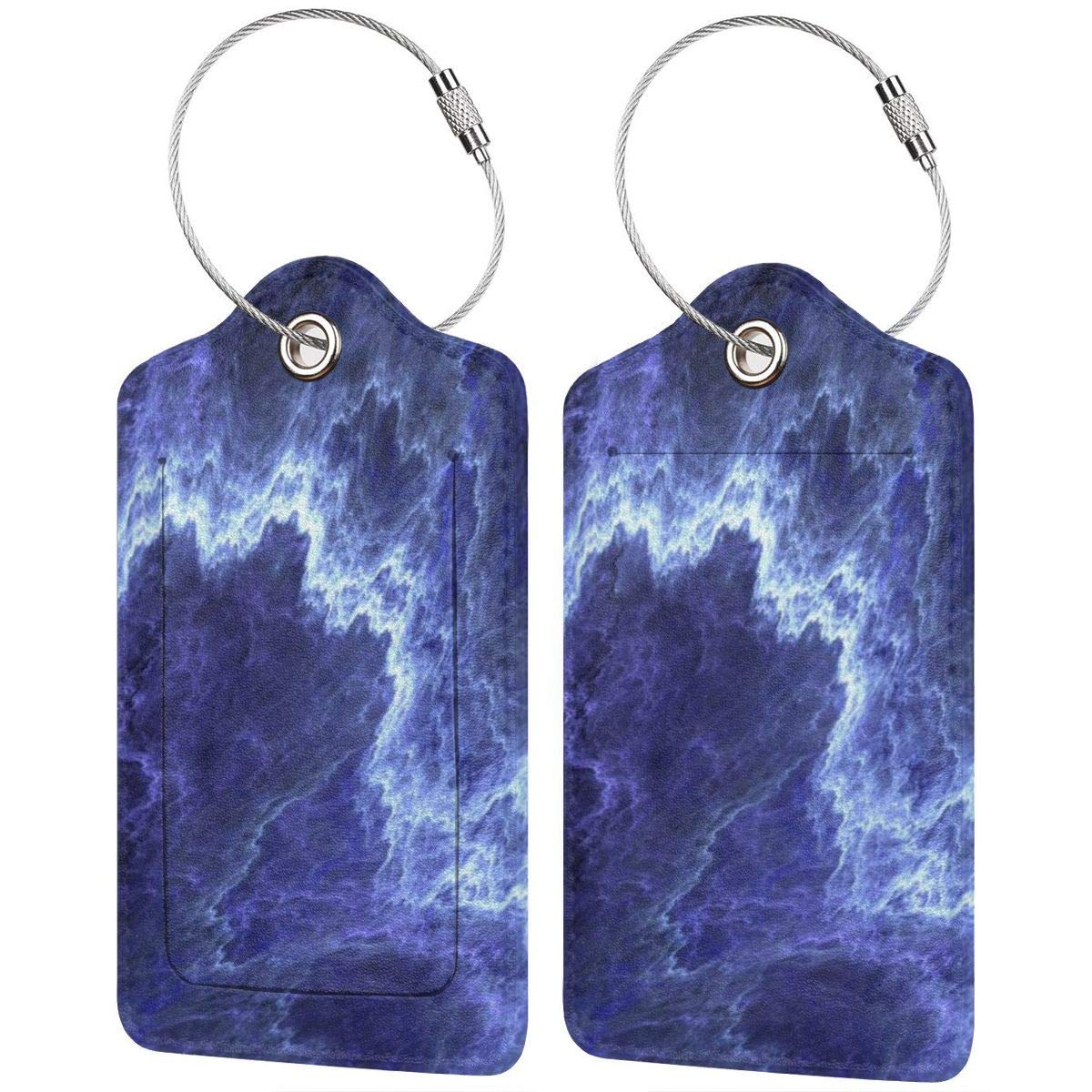 Marble Art Texture 9 Luggage Tag Label Travel Bag Label With Privacy Cover Luggage Tag Leather Personalized Suitcase Tag Travel Accessories