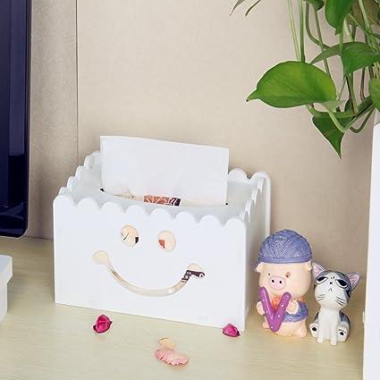 Pañuelos Caja Servilletero Funda de Toallitas faciales dispensadora de pañuelos cubiertas para cocina/baño/