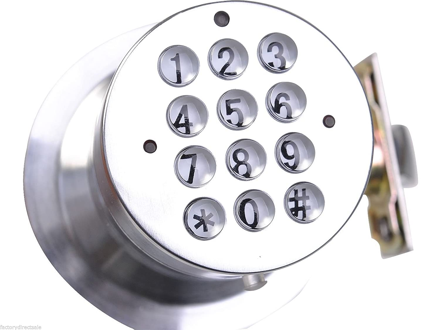 Amazon.com: Safstar Keyless Electronic Keypad Door Lock Programable Code  Entry Security Safety Locker: Electronics