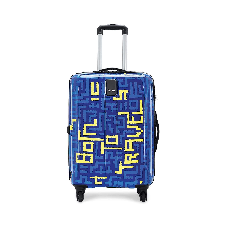 Safari Thorium Maze Printed Hard Luggage
