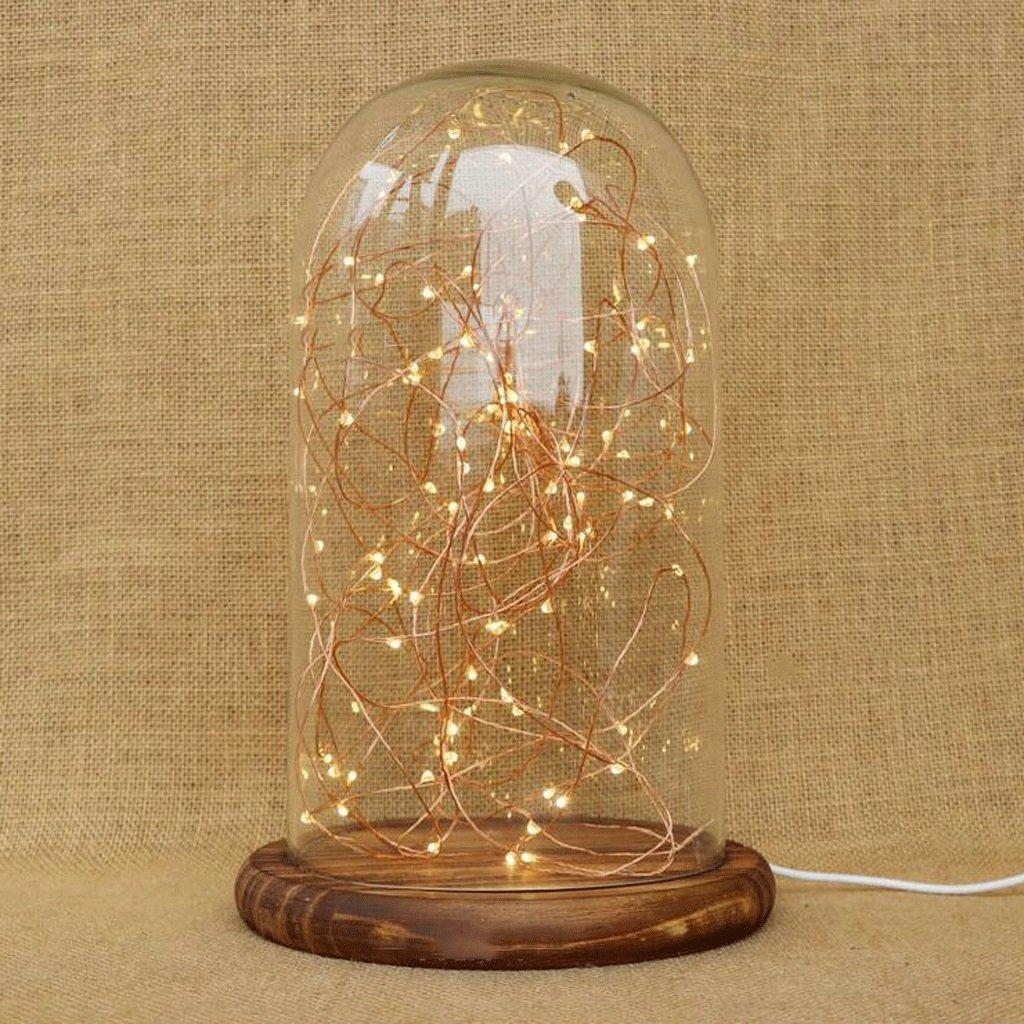 lámpara de escritorio Dormitorio creativo Sala de estar Regalos de madera maciza