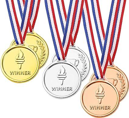 Medallas De Premiacion Para Torneo Competicion Diseño Olimpico Paquete De 24