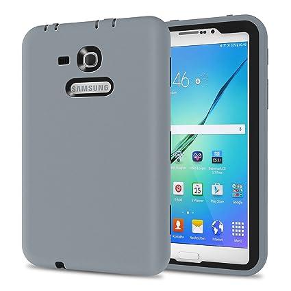 big sale ed64e 4ea2b Galaxy Tab 3 Lite 7.0 Case, TKOOFN Shockproof Heavy Duty Rugged Hybrid  Silicone Case Cover for Samsung Galaxy Tab 3 7-Inch SM-T210 / ...