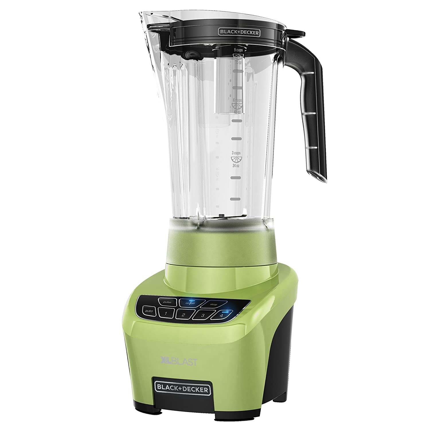 BLACK+DECKER XL Blast Drink Machine, Lime Green, BL4000L