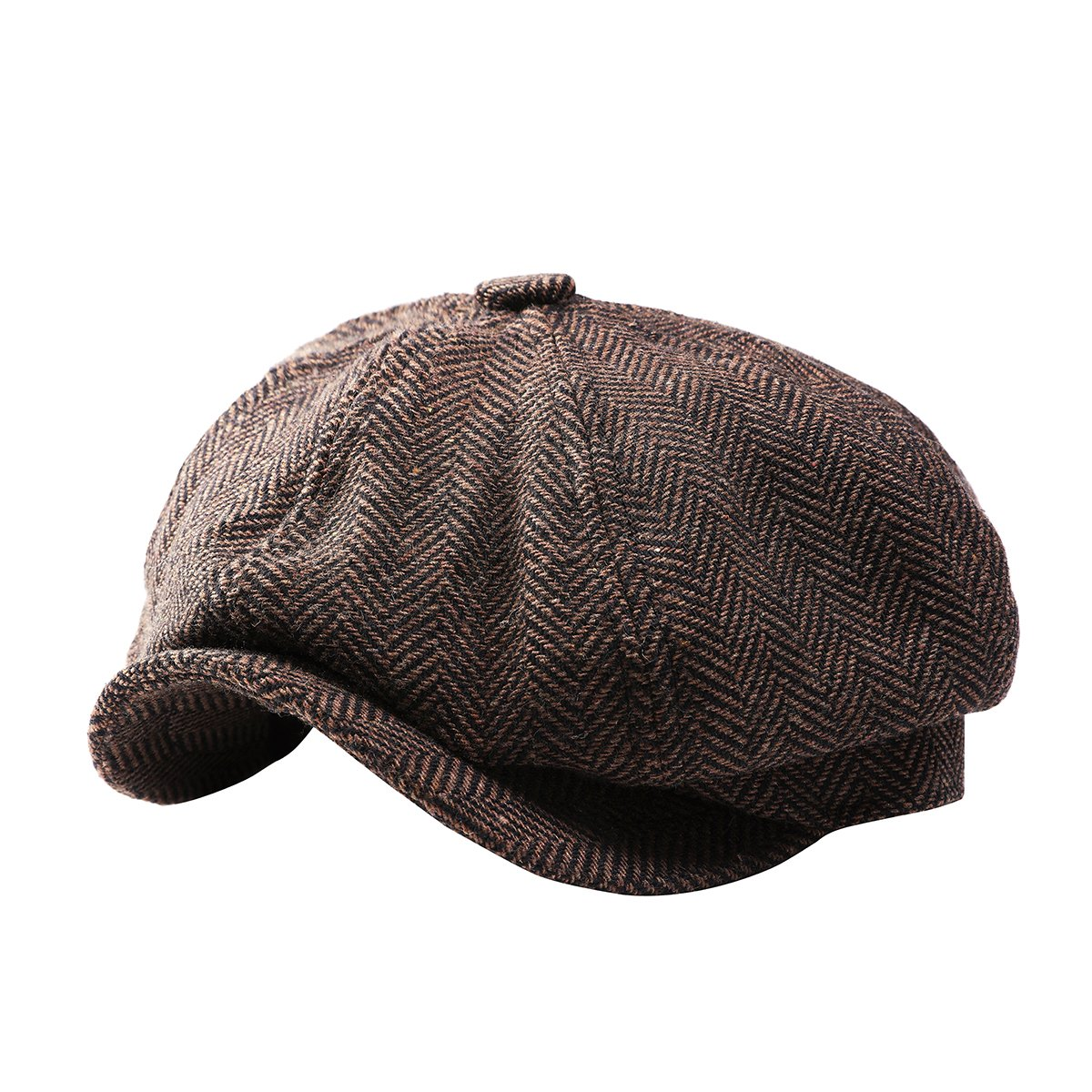GESDY Mens Vintage Newsboy Ivy Cap Flat Octagonal Golf Driving Hat Beret  Cabbie Gatsby at Amazon Men s Clothing store  3d485df9014d